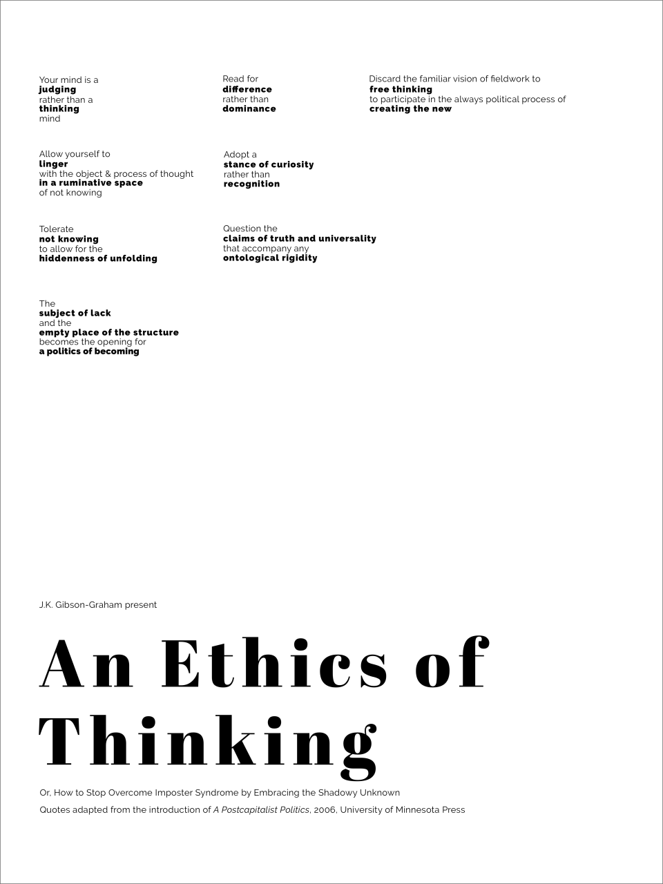 Ethics of Thinking3x-Border